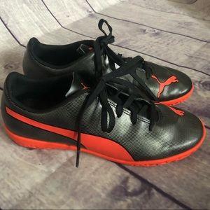 Puma Jr indoor turf soccer shoes